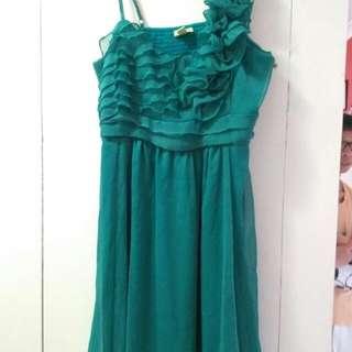 Avocado Jade Dress Size 12