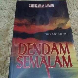 Dendam Semalam By Zaifulzaman Ahmad