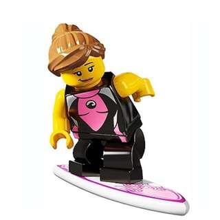 Lego Series 4 Minifigures Surfer Girl
