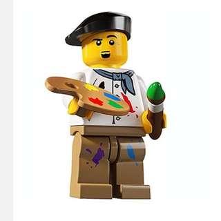 Lego Series 4 Minifigures Artist