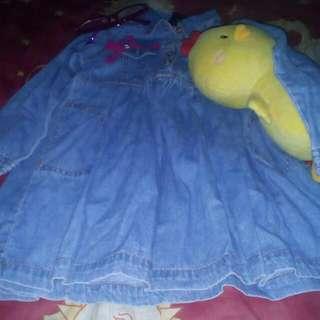 Maong Polo Long sleeve Dress