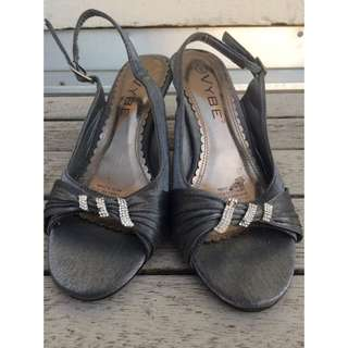 VYBE Silver Heels