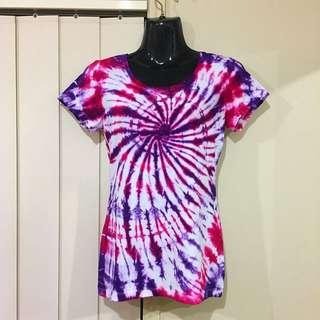 Tie Dye Ladies T-Shirt