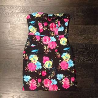 Friends of Couture Floral Dress Size 8