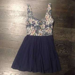 Floral Summer Dress Size XS