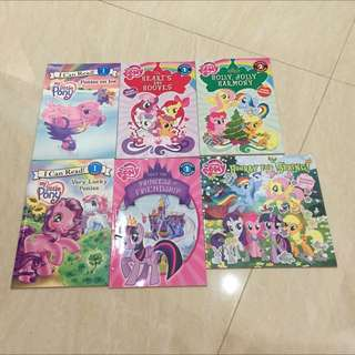 MY LITTLE PONY BOOKS COLLECTION