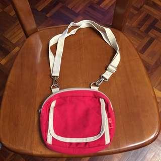 H2O紅色兩用小包