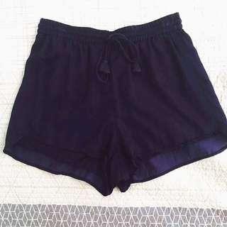Navy Blue Tigerlily Shorts