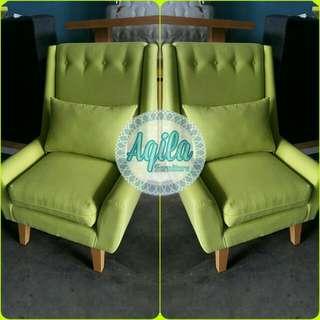 Sofa Single Seat Lime Green
