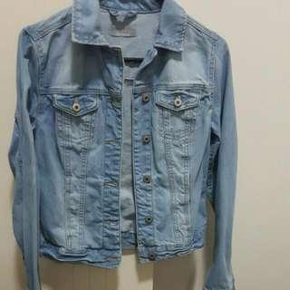 Lights Blue Denim Jacket