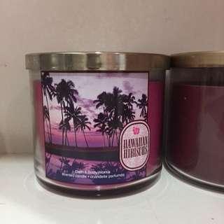 Bath And Body Works Hawaiian Hibiscus Candle