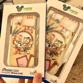 Disney 畫家帽gelatoni手機殼 可議