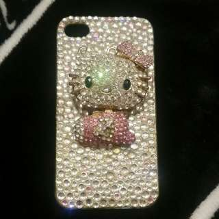 Custom Made Hello Kitty IPhone 4 Cover