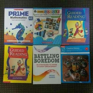Teacher Resources/books