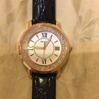 香港品牌Kezzi水鑽手錶