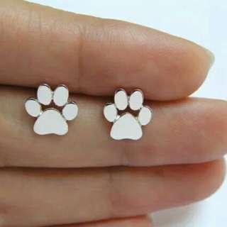 Cute Paw Print Earrings