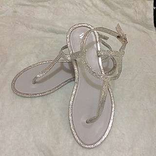 Jelly Sandals (silver) For Women