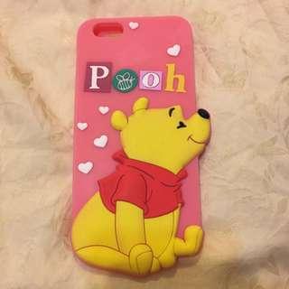 iPhone6S Plus 小熊維尼手機厚軟殼