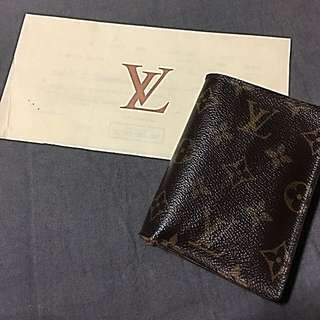 LV Wallet Trifold