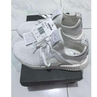 Adidas NMD XR1 PK Vintage Triple White Size 39 1/3 Original