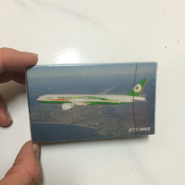長榮航空 撲克牌