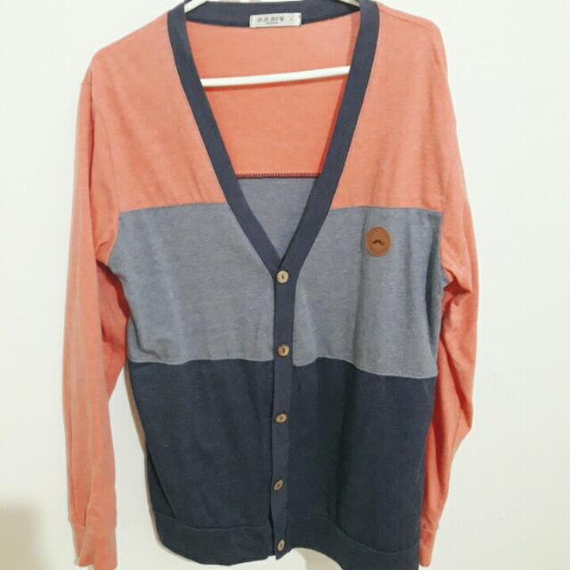 韓國歐巴罩衫 L