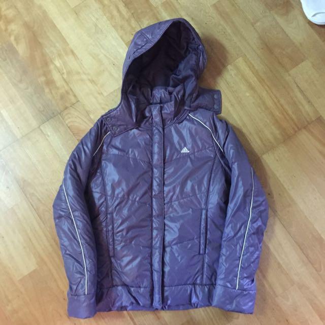 Adidas 紫色外套