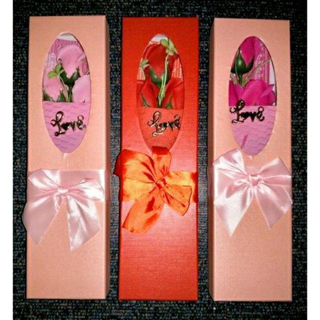 Affordable Valentine Flower Box
