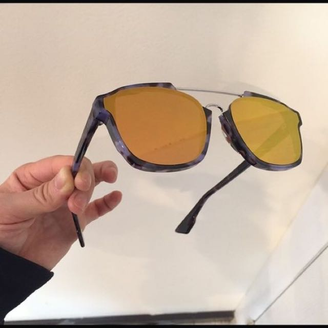 9737c411de2 Authentic Dior Abstract Sunglasses (orange)