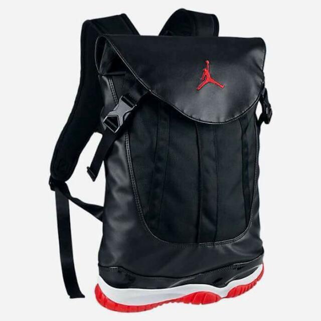 8dbba93db51 Authentic Jordan 11 XI Sneaker Bag Bred Black Red Backpack Nike NIB, Men's  Fashion, Bags & Wallets, Backpacks on Carousell