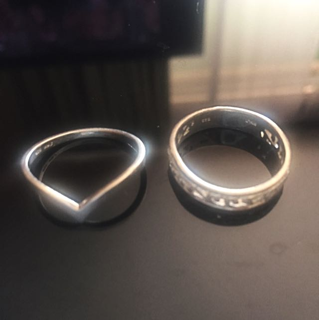 AUTHENTIC Michael Hill Sterling Silver 925 Rings
