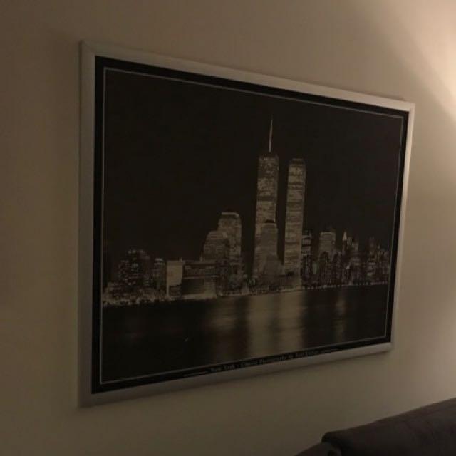 Beautiful New York Skyline Canvas