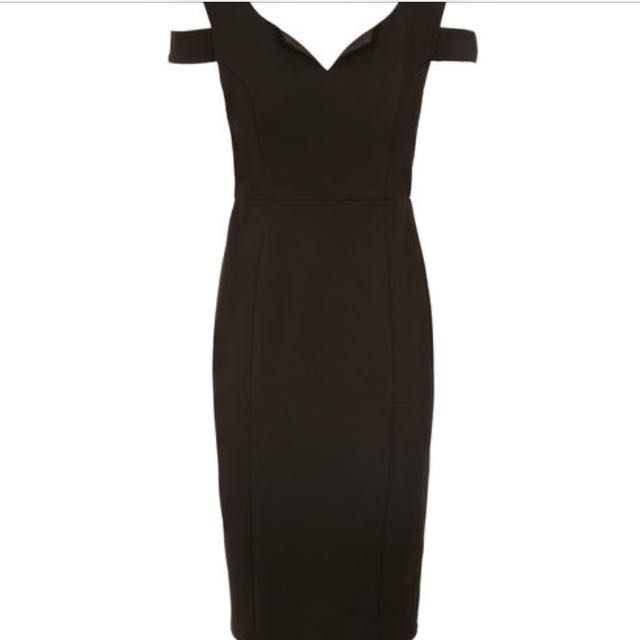 Black Dress Size 14 From Rickis