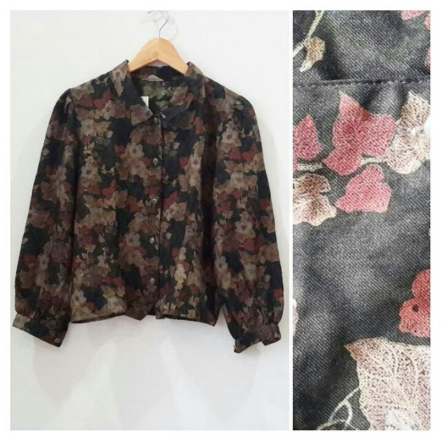 Blouse Twistcone Motif