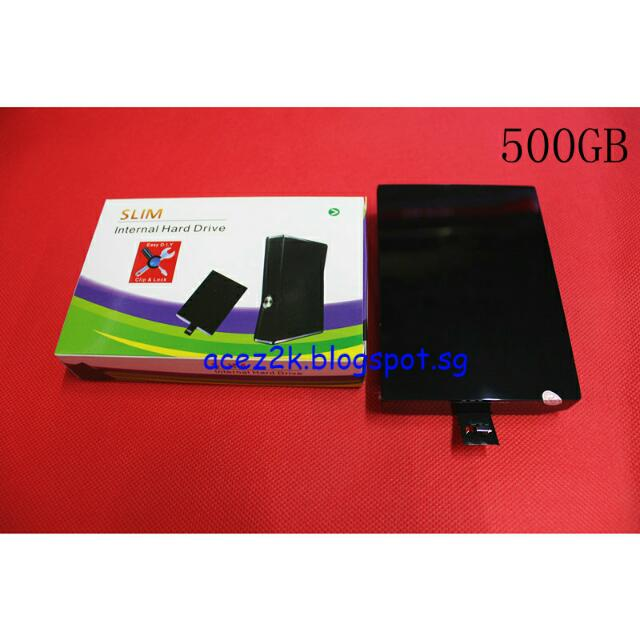 [BN] Xbox 360 Slim 500GB HDD (Brand New)