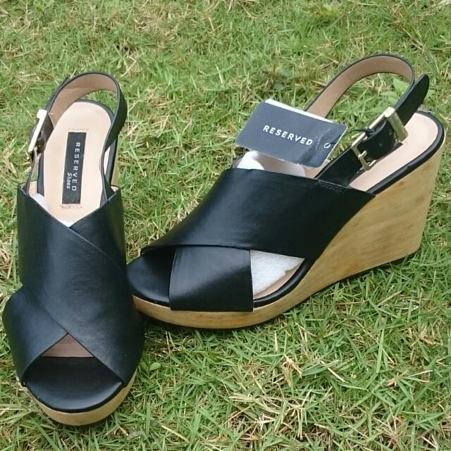 Branded Wedge Sandals