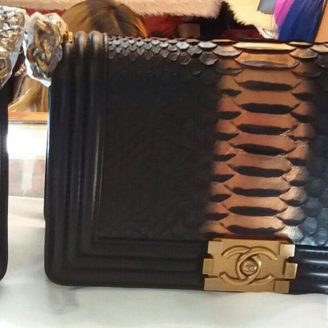 Chanel Snakeskin Bags