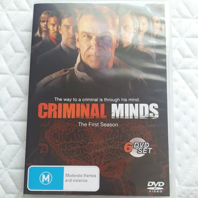 Criminal Minds Season 1 (6 Disc)