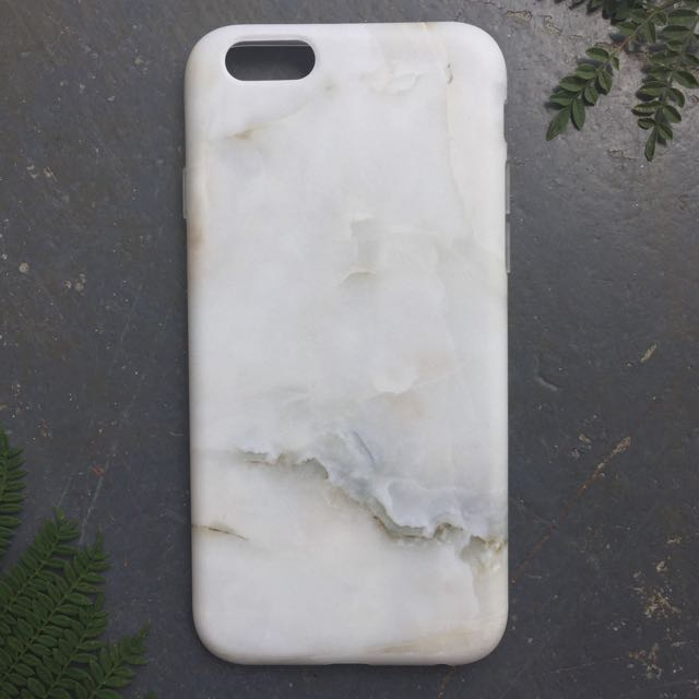 Elegant White Marble iPhone Case