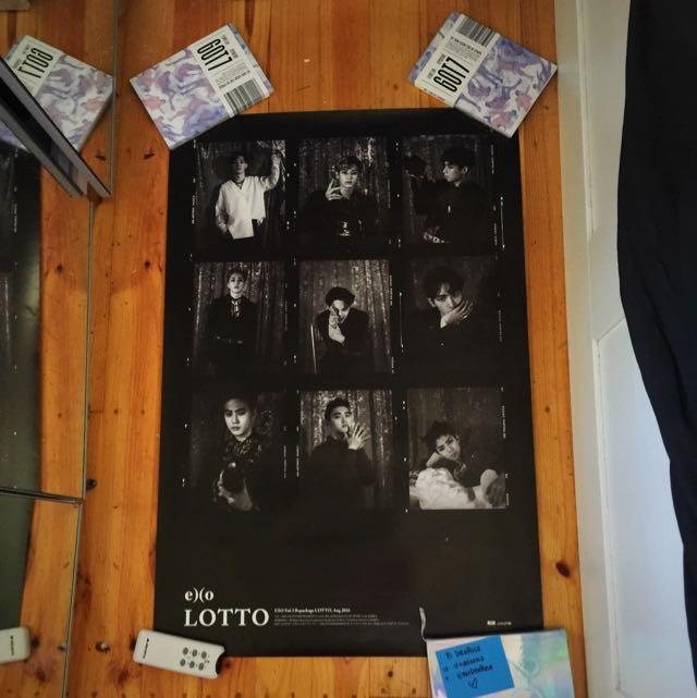 EXO Lotto poster