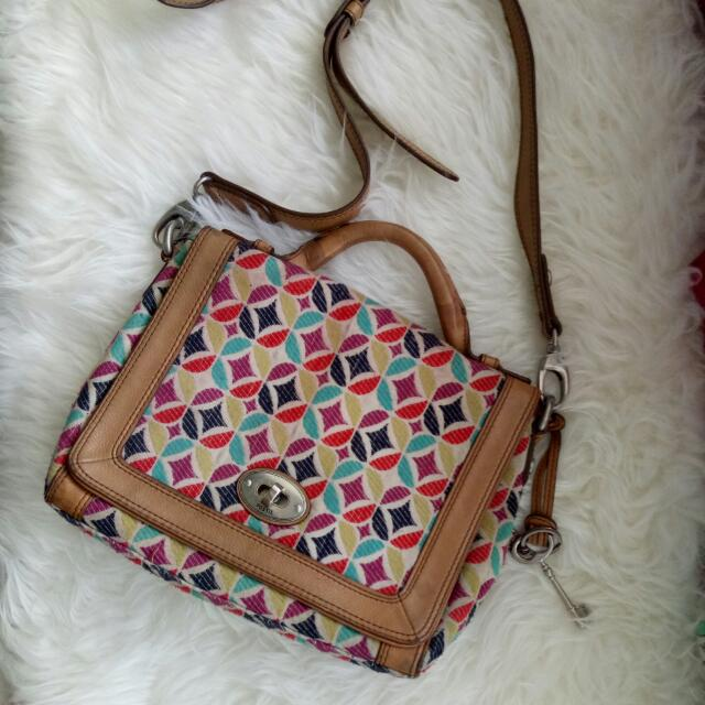 Fossil Patchwork Bag , I Heart Sale