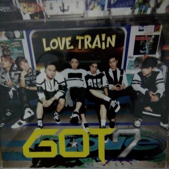 GOT7 LOVE TRAIN LE B
