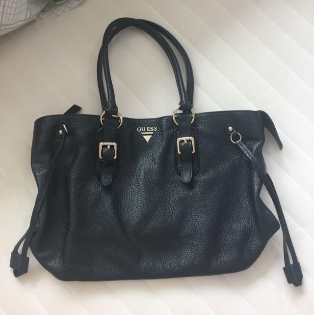 Guess Genuine Leather Tote Bag