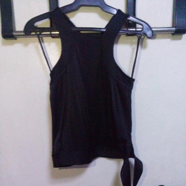 Halter Top With Side Knot