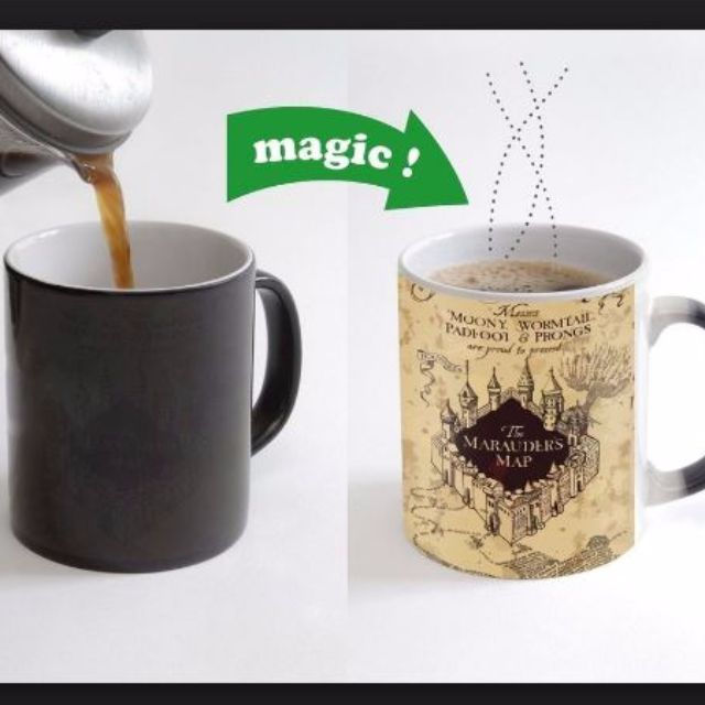 Harry potter colour changing mugs