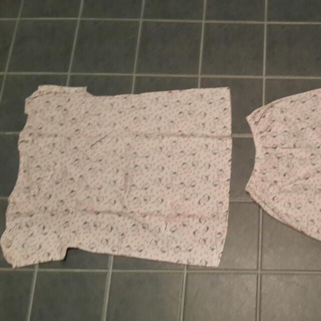 Hello Kitty matching pyjama set