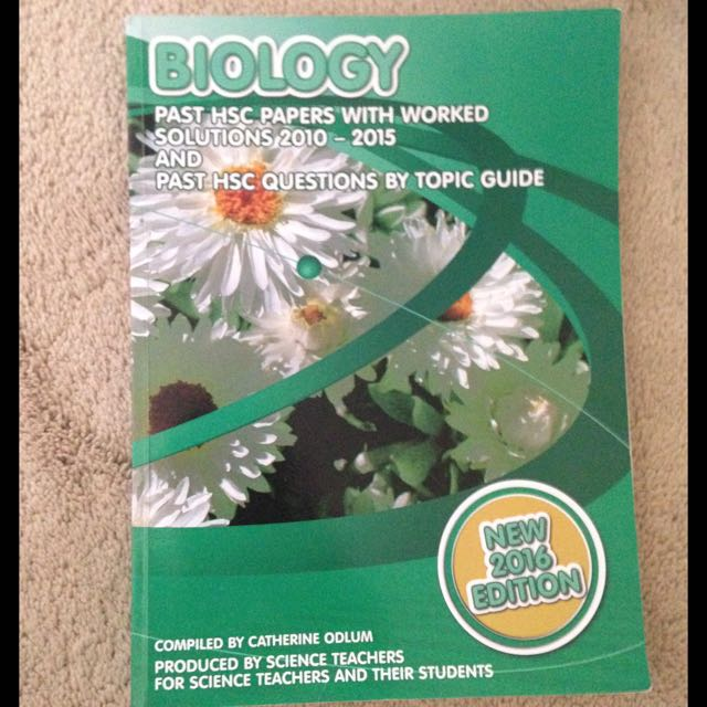 HSC Biology Past Papers (2010-2015)