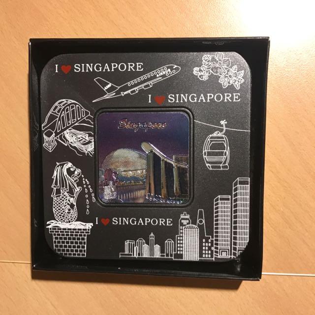 I ❤️ Singapore cup coaster