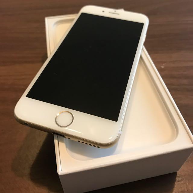 iPhone 6. 土豪金64G. 2015
