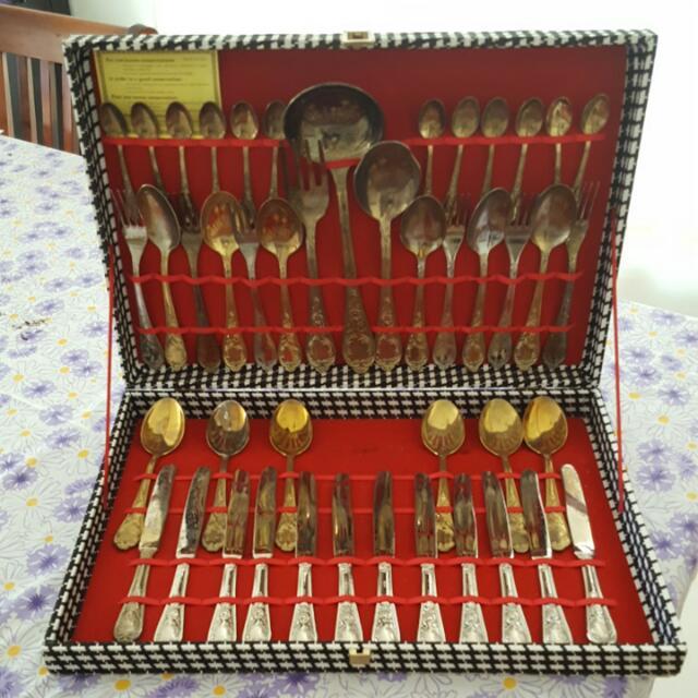 Italian Vintage Silverware